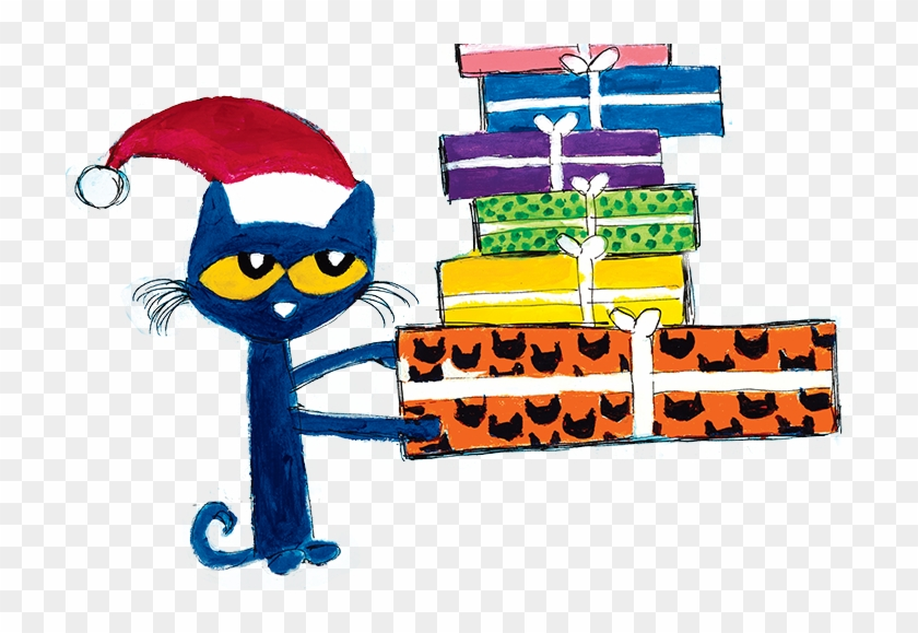 Pete The Cat Christmas.Take Turns Clipart Pete The Cat Christmas Clipart Hd Png