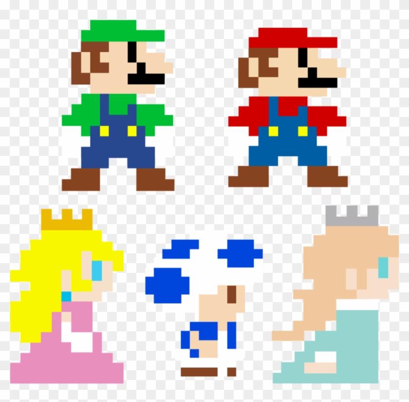 Mario Pixel Https 8 Bit Mario Png Transparent Png 848x793