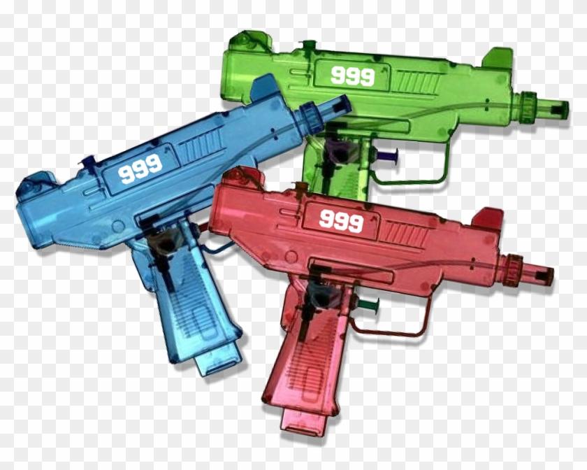 Limited Edition Armed & Dangerous Uzi Water Gun - Juice Wrld