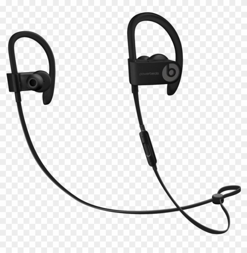 Beats Headphones Png Powerbeats3 Asphalt Gray Transparent Png 824x779 6567996 Pngfind