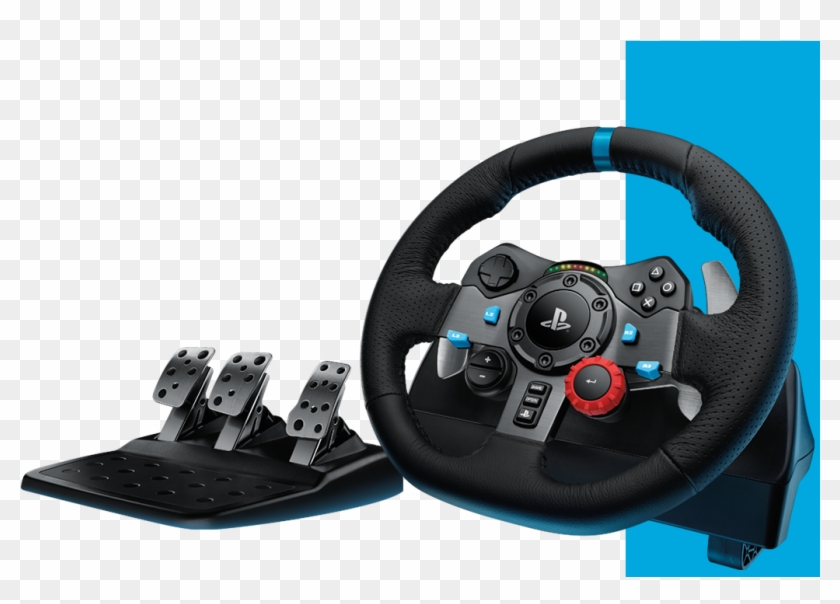 Logitech G Driving Force Racing Wheels Hits Ps4 - Logitech G29, HD