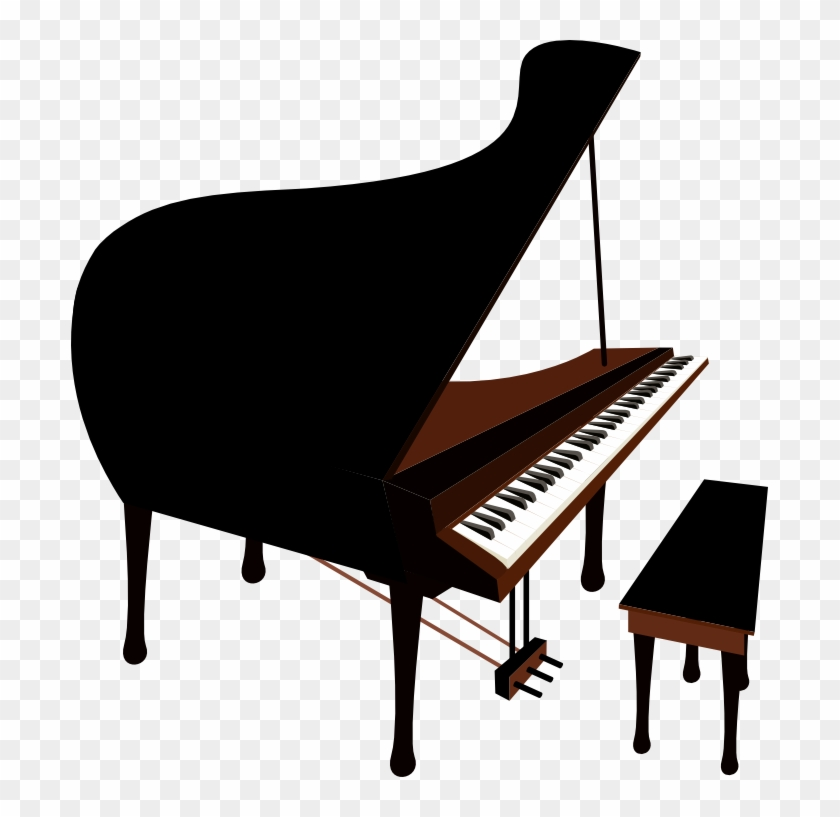 Piano 2x Grand Piano On Stage Hd Png Download 697x737 6580637 Pngfind