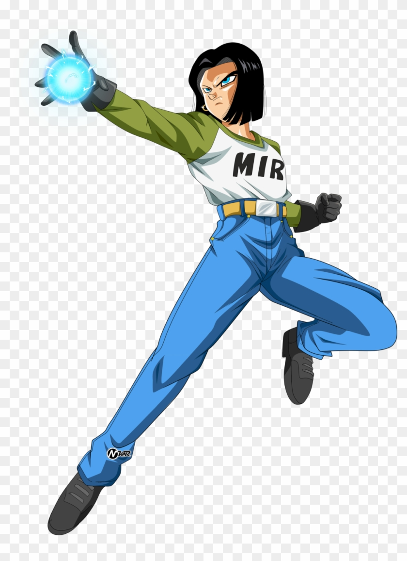 391kib 1024x1361 Android 17 Androide 17 Dragon Ball Super Png