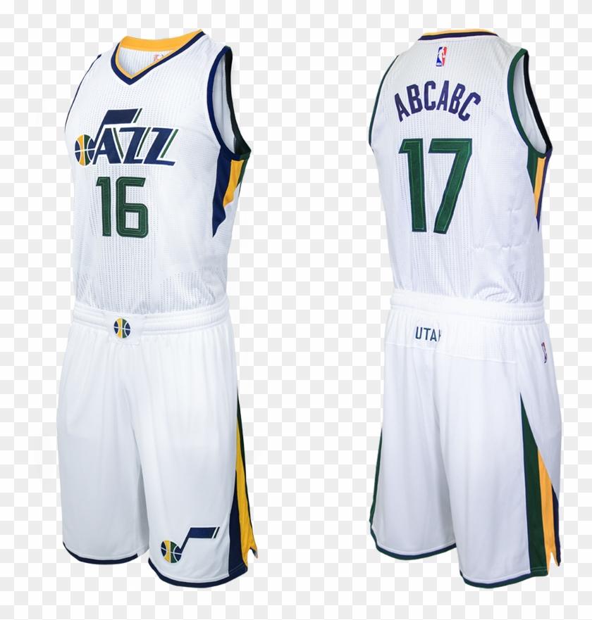 promo code 34af8 d1d65 1 - Utah Jazz Jersey White, HD Png Download - 960x800 ...