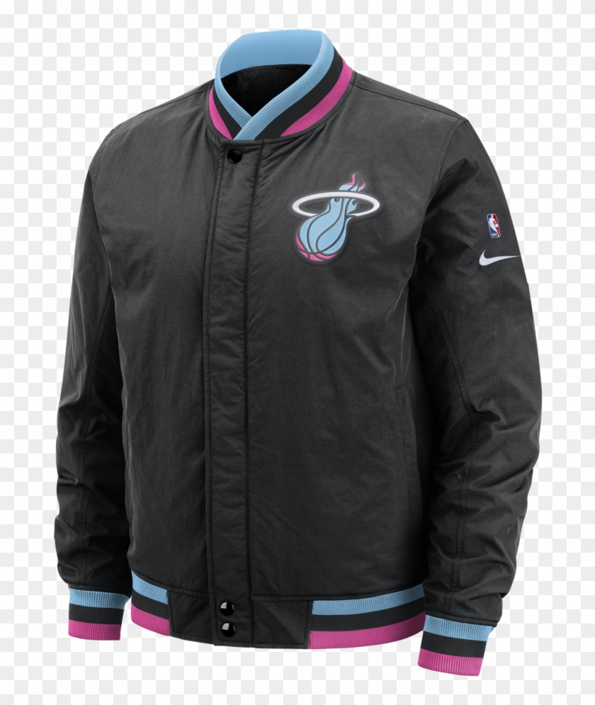 timeless design 819a9 9d93d Nike Miami Heat Vice Nights City Edition Courtside - Miami ...