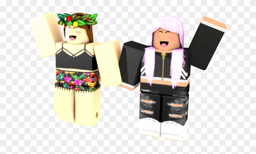 Me And My Best Friend Gfx Roblox Party Girl Render Hd Png
