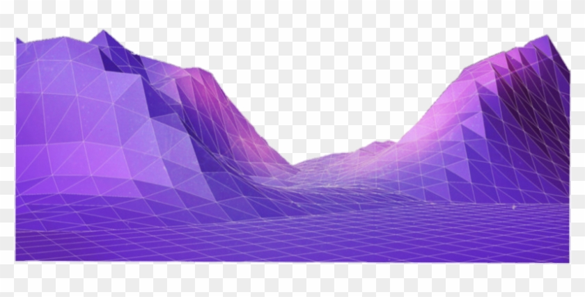 Vaporwave Mountain Mountains Grid Vaporwave Aesthetic