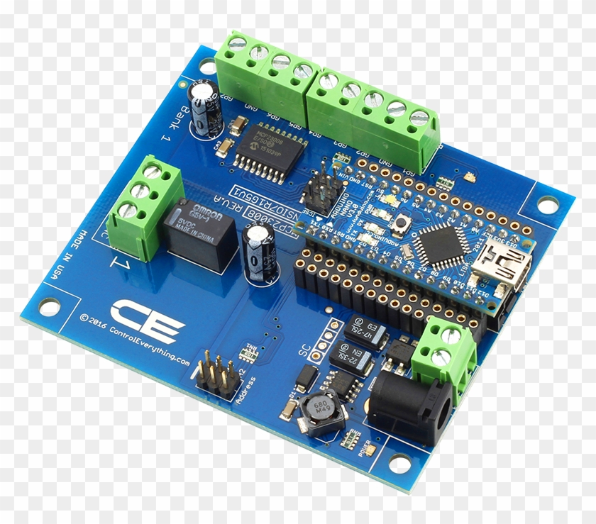 Arduino 3 Phase Motor Shield, HD Png Download - 1000x667(#6610536