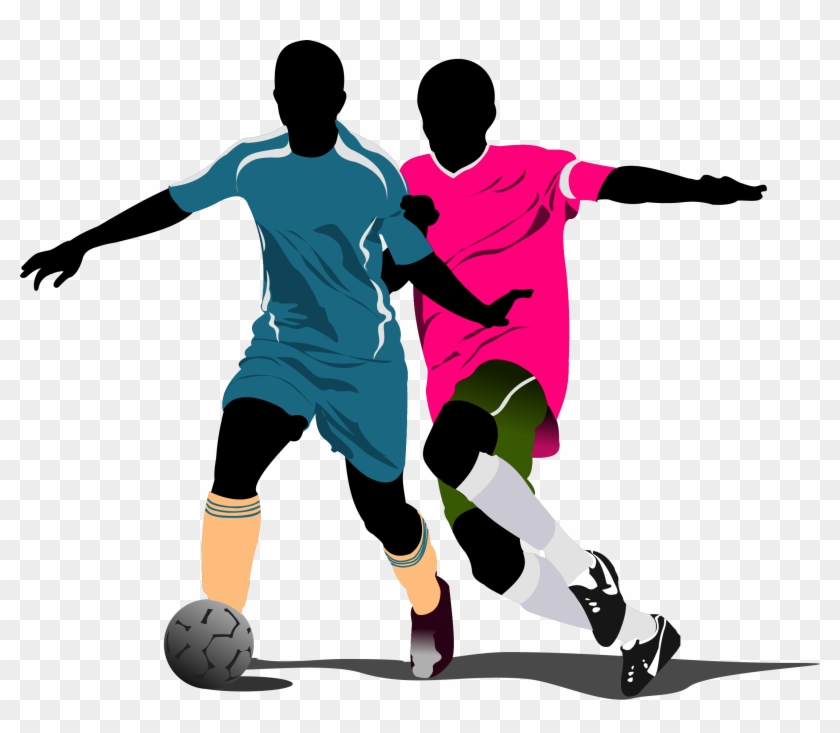 Free Vector Football Soccer Players Illustration Png