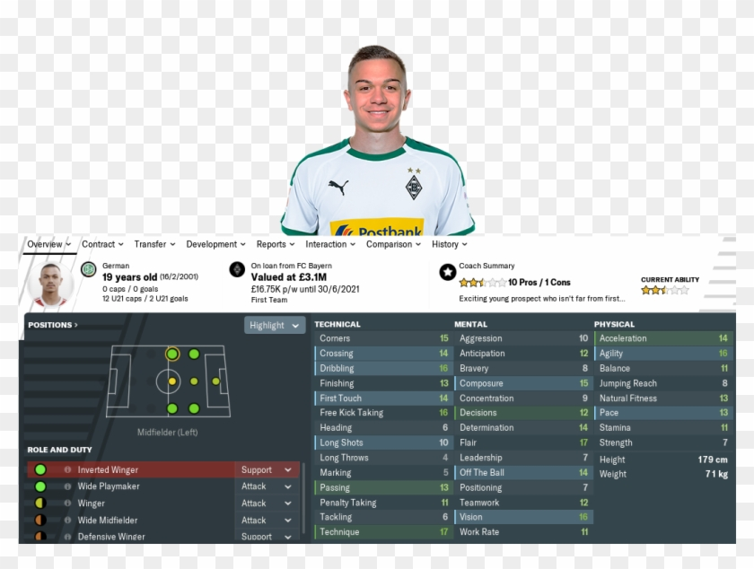 Click Image For Larger Version Name - Fm19 Smith Rowe, HD