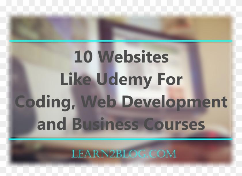 10 Websites Like Udemy For Coding, Web Development, - Poster