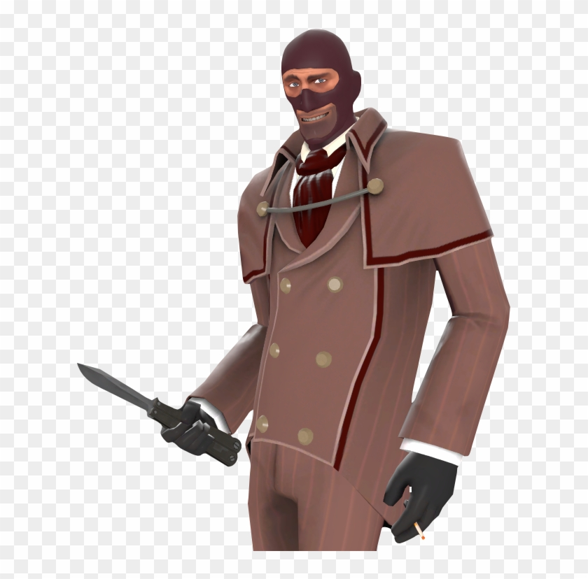 3 Team Fortress 2 Spy Hd Png Download 619x748 6634625 Pngfind
