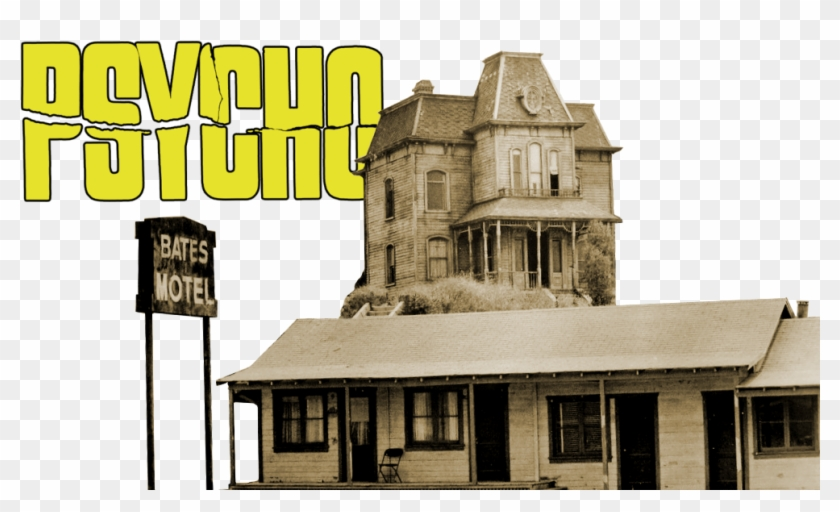 Psycho Image - Psycho House Movie, HD Png Download - 1000x562