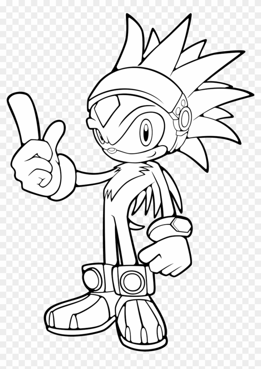 Odd Silver The Hedgehog Coloring Pages Silver Hedgehog Coloring Pages Hd Png Download 850x1163 6639381 Pngfind