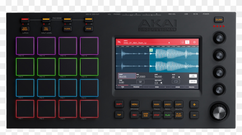 Akai Mpc Touch, HD Png Download - 1000x1194(#6652088) - PngFind