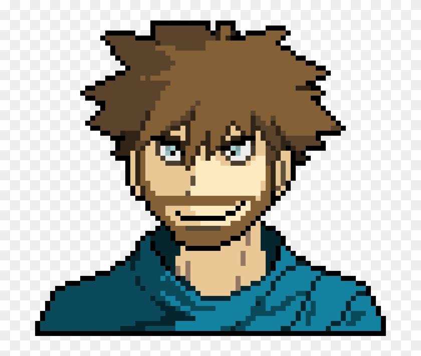 Pokemon Trainer - Pokemon Pixel Art Portrait, HD Png Download