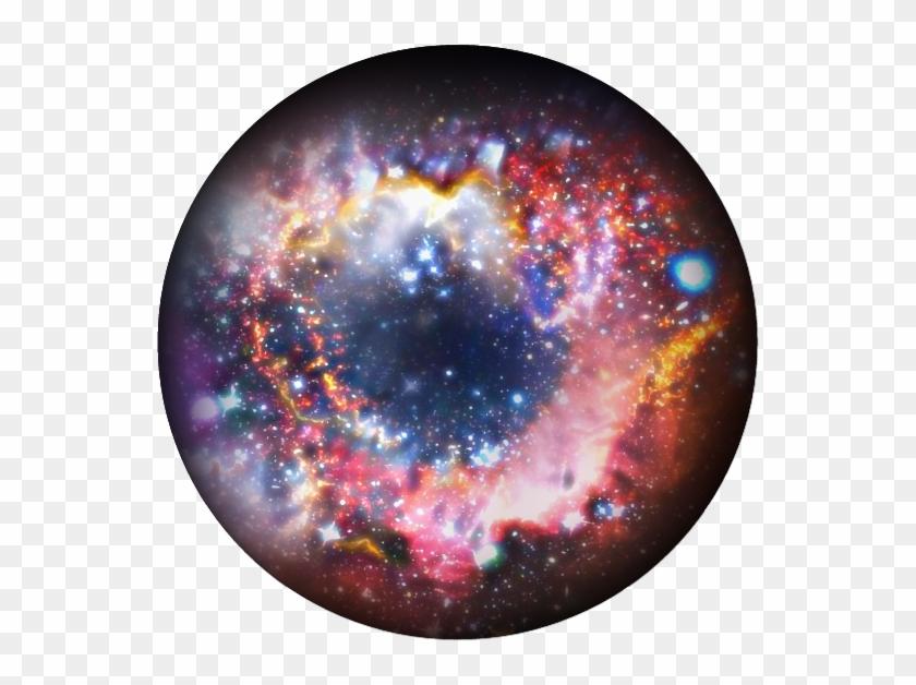 Galaxy circle. Universe clipart spiral nebula