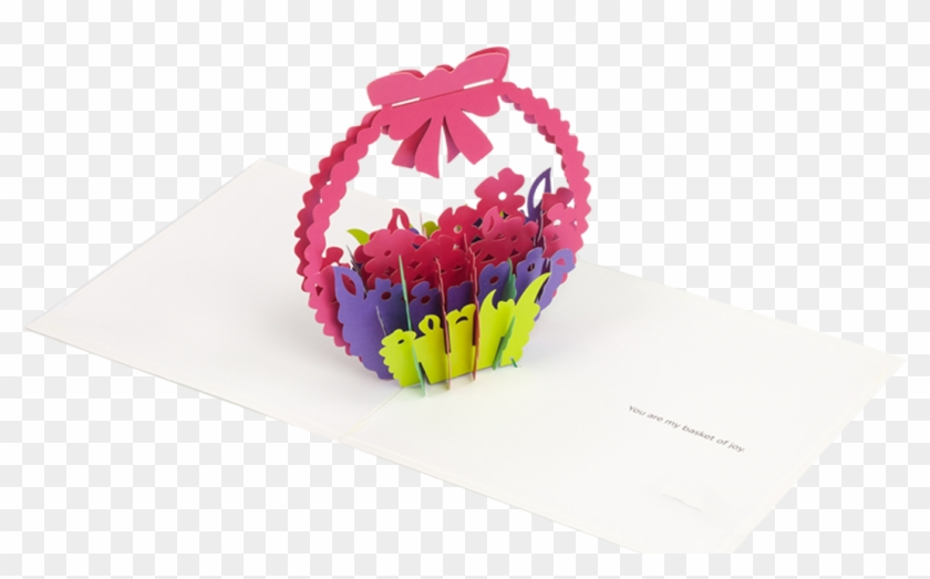 Amazing Flower Pop Up Card. | Pop up flower cards, Pop up cards ... | 523x840