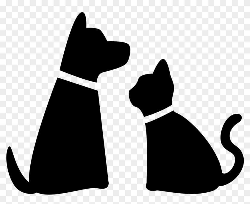 Dog And Cat Silhouette Png Png Download Cat And Dog Png Transparent Png 1097x846 672012 Pngfind