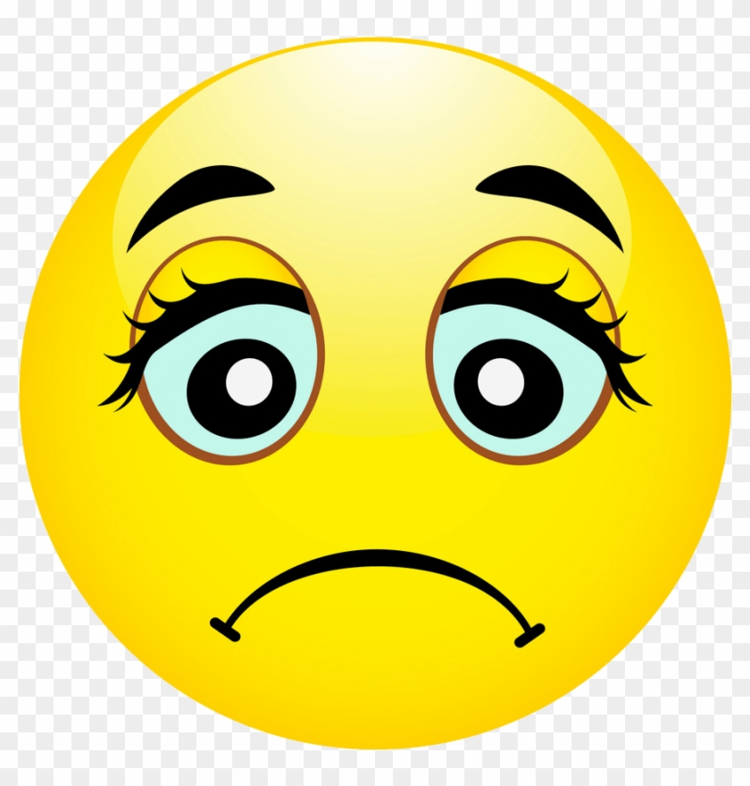 Sad Emoji For Dp, HD Png Download - 932x940(#679780) - PngFind