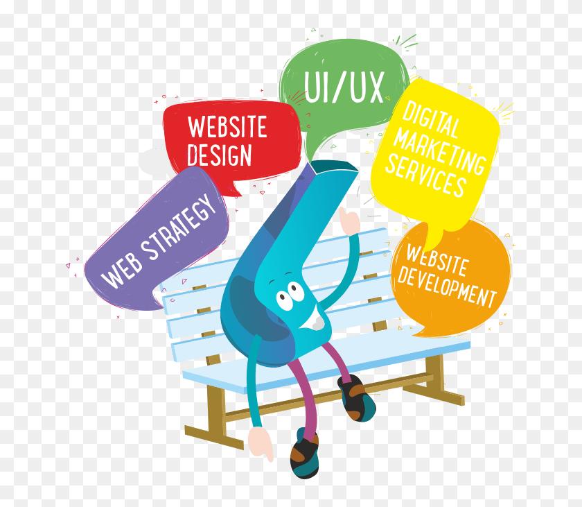 Creative Web Design And Custom Website Development Web Design Development Hd Png Download 649x651 6717246 Pngfind