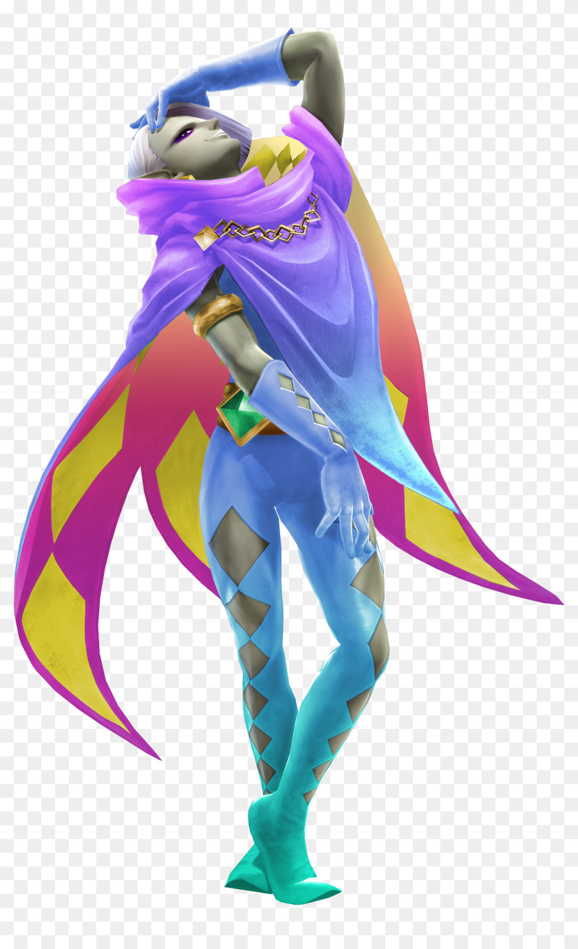 Hyrule Warriors Legends Ghirahim Costumes Hd Png Download 2398x3826 6741493 Pngfind