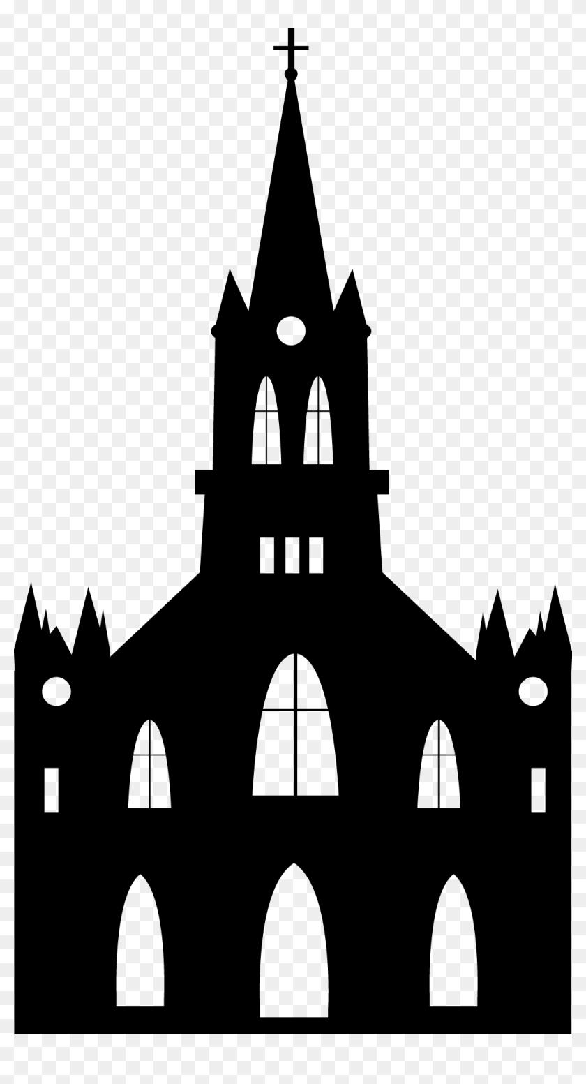 Euclidean Vector Church Religion Silhouette Silhouette