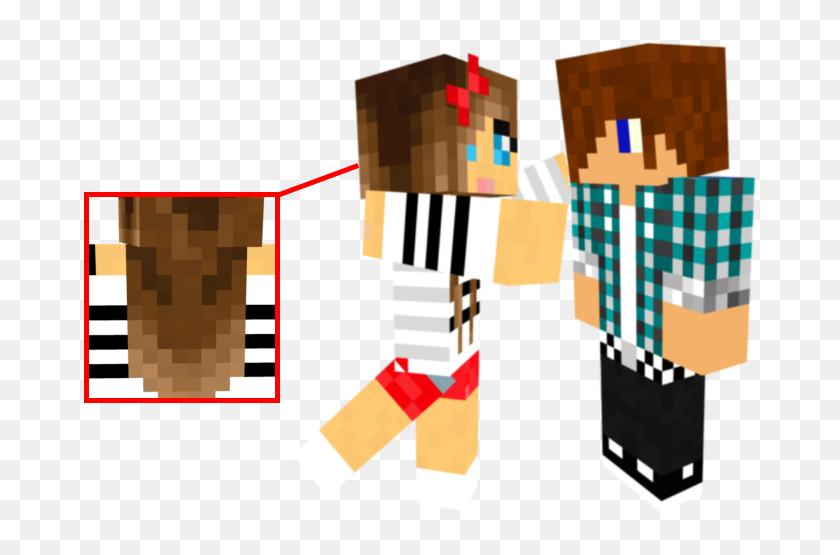 Minecraft Skins Girl And Boy Png Download Minecraft Skins Boy And Girl Transparent Png 674x475 6758952 Pngfind