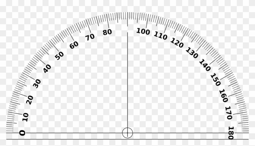 It is a graphic of Protractor Printable Pdf in full page