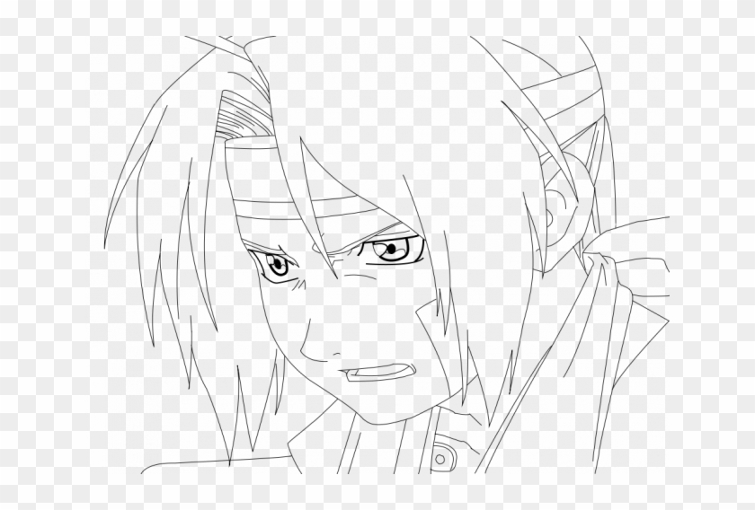 Edward Elric Coloring Pages E6 Hd Png Download 650x488 685132 Pngfind