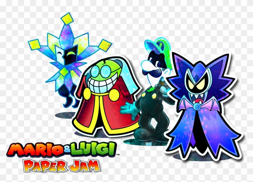 Mario Luigi Mario Luigi Paper Jam Hd Png Download