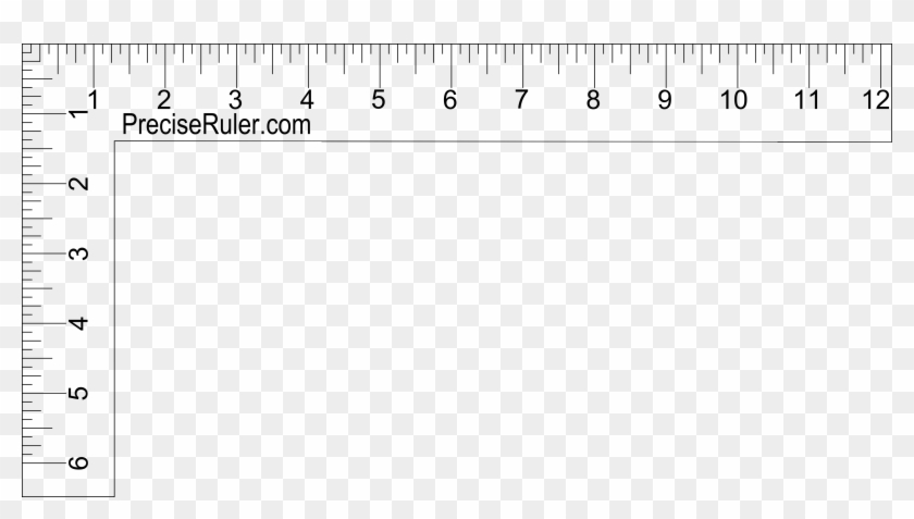 image regarding Ruler Printable identify 3270 X 1705 25 0 - Printable Ruler L, High definition Png Down load