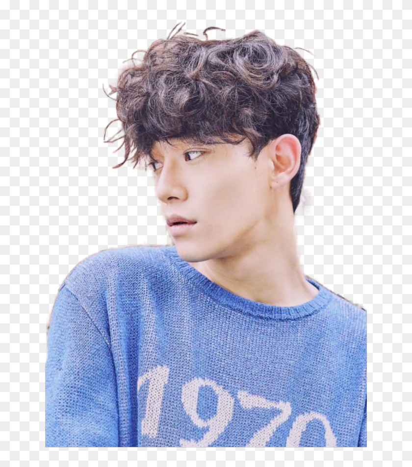 Freetoedit Kpop Exo Chen Exo Chen Curly Hair Hd Png Download 658x873 6801046 Pngfind