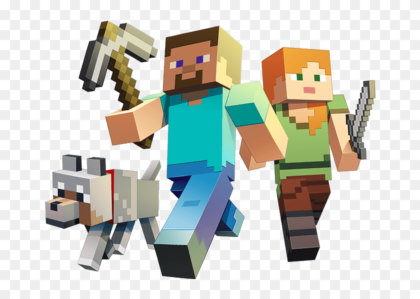 Minecraft Marketplace Coming To Windows 10 And Mobile Minecraft Png Transparent Png 662x518 6804361 Pngfind