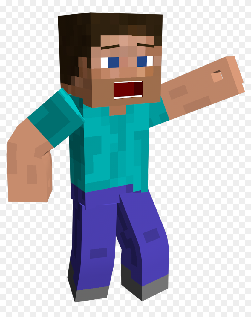 Playstation 8 8d Rendering Skin Minecraft Png - Steve Minecraft No