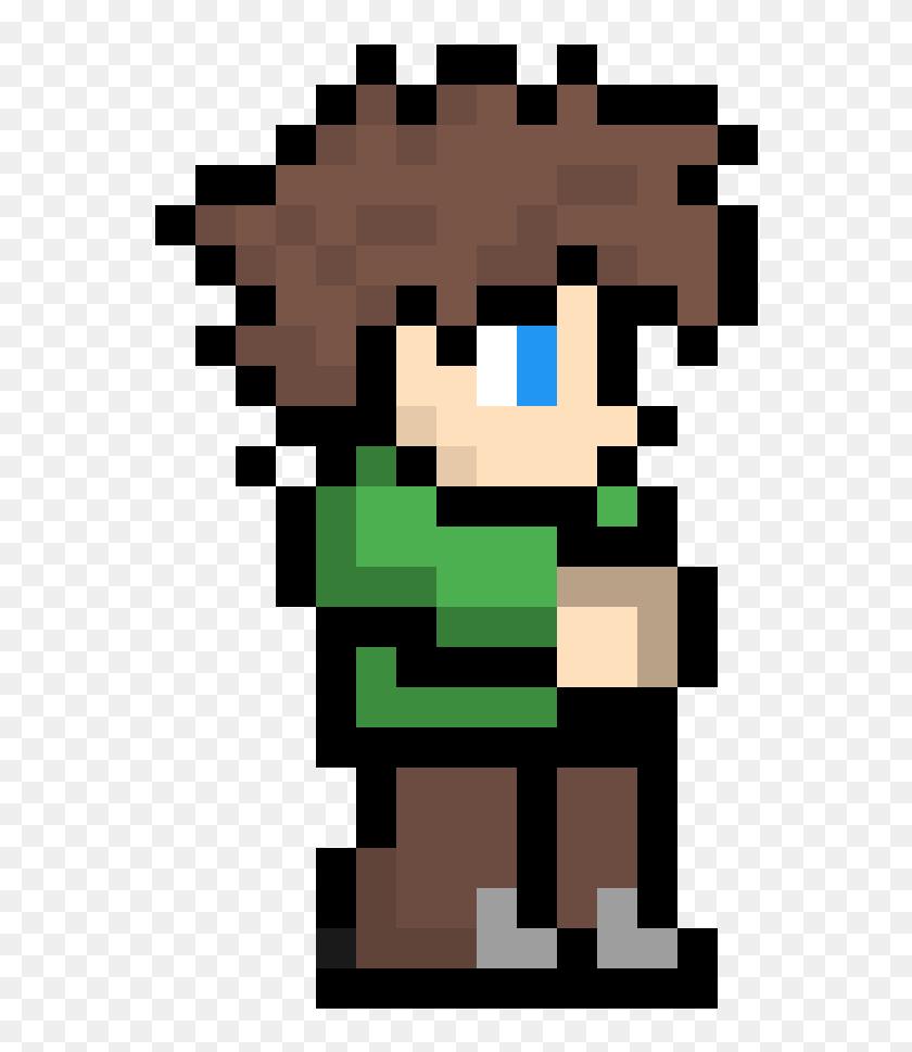 Terraria Character Pixel Art Clipart Png Download Ben 10 Pixel Art Transparent Png 556x889 6807673 Pngfind