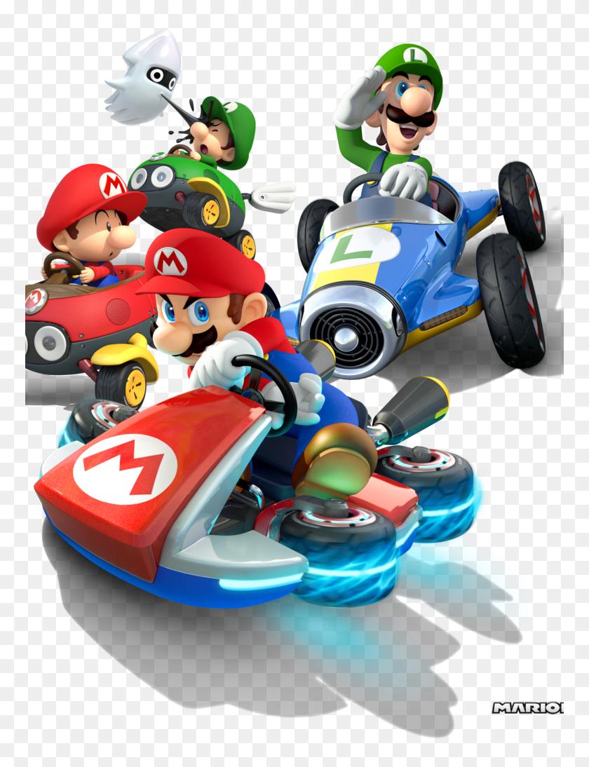 Transparent Mario Kart 64 Png Super Mario Go Karts Png Download