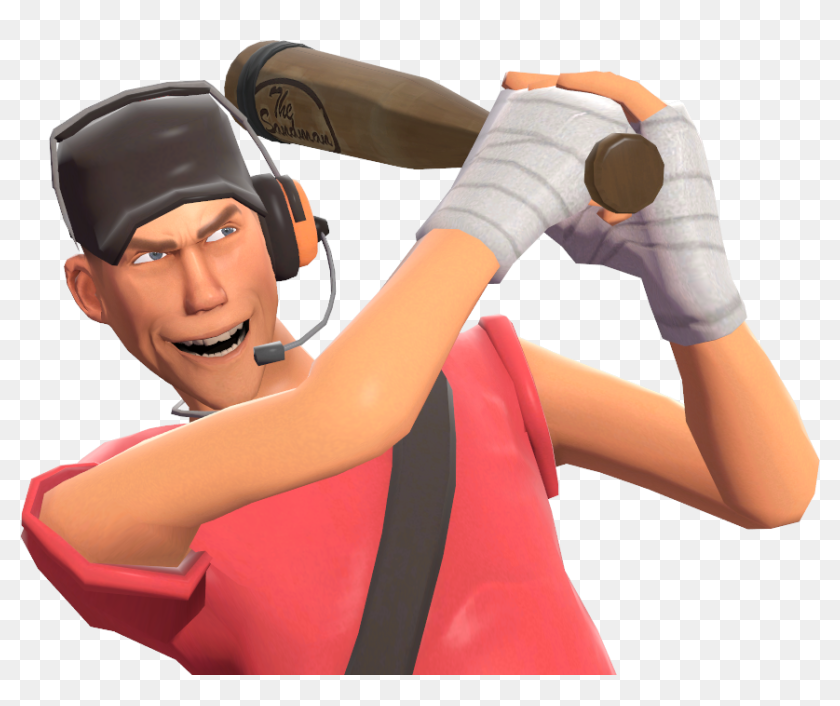 Scout Png Tf2 Transparent Png 859x682 6842149 Pngfind