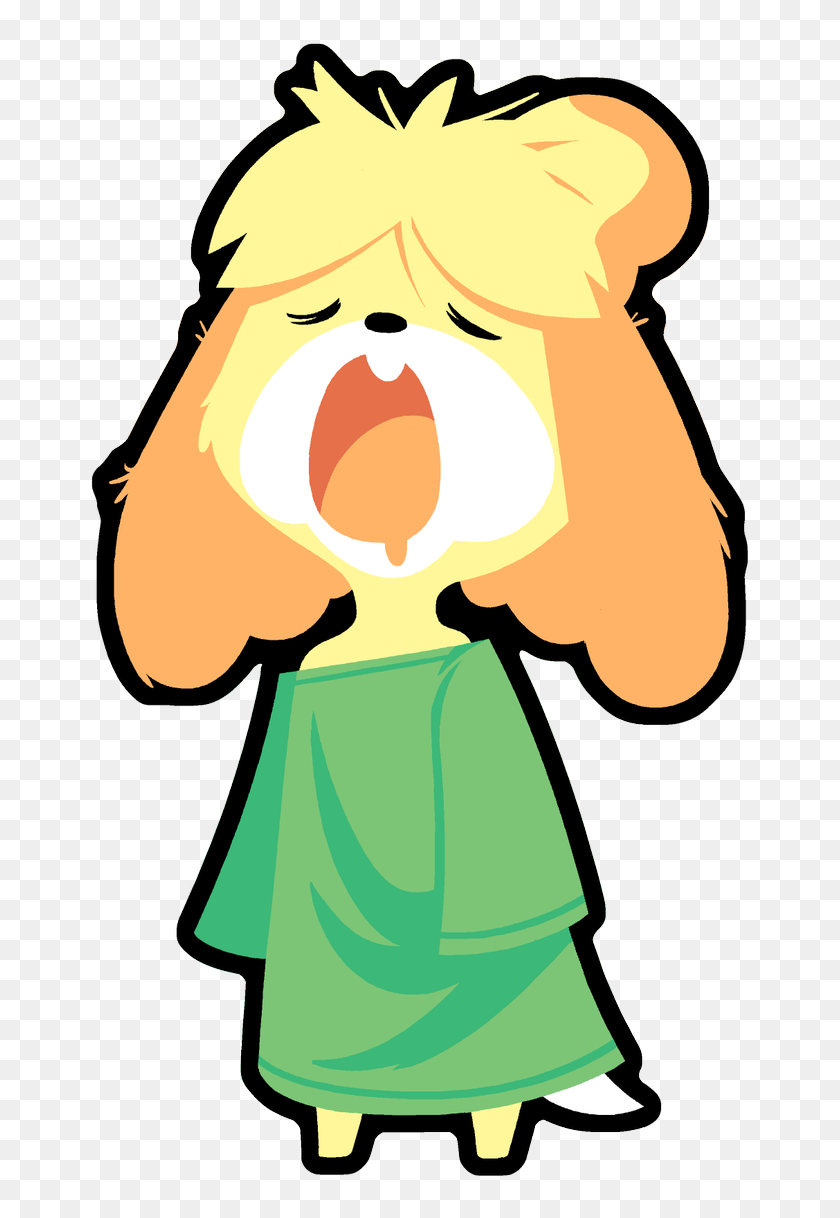 Isabelle Animal Crossing Human, HD Png Download - 735x1200 ...