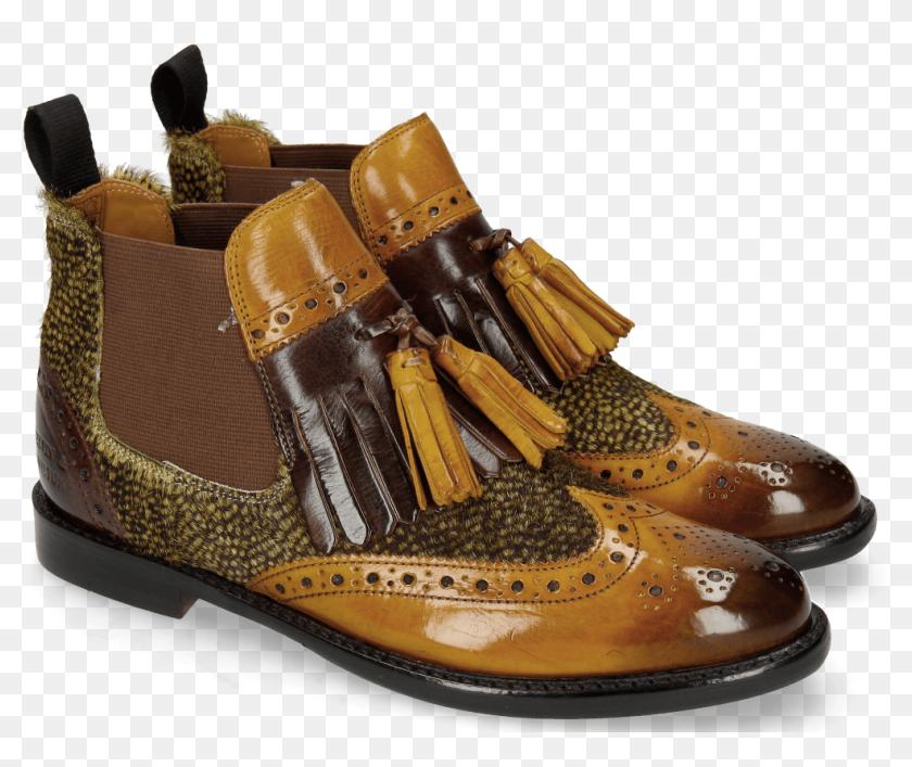 am besten verkaufen zu Füßen bei hohe Qualitätsgarantie Ankle Boots Selina 5 Ocra Hairon Halftone New Grass - Melvin ...
