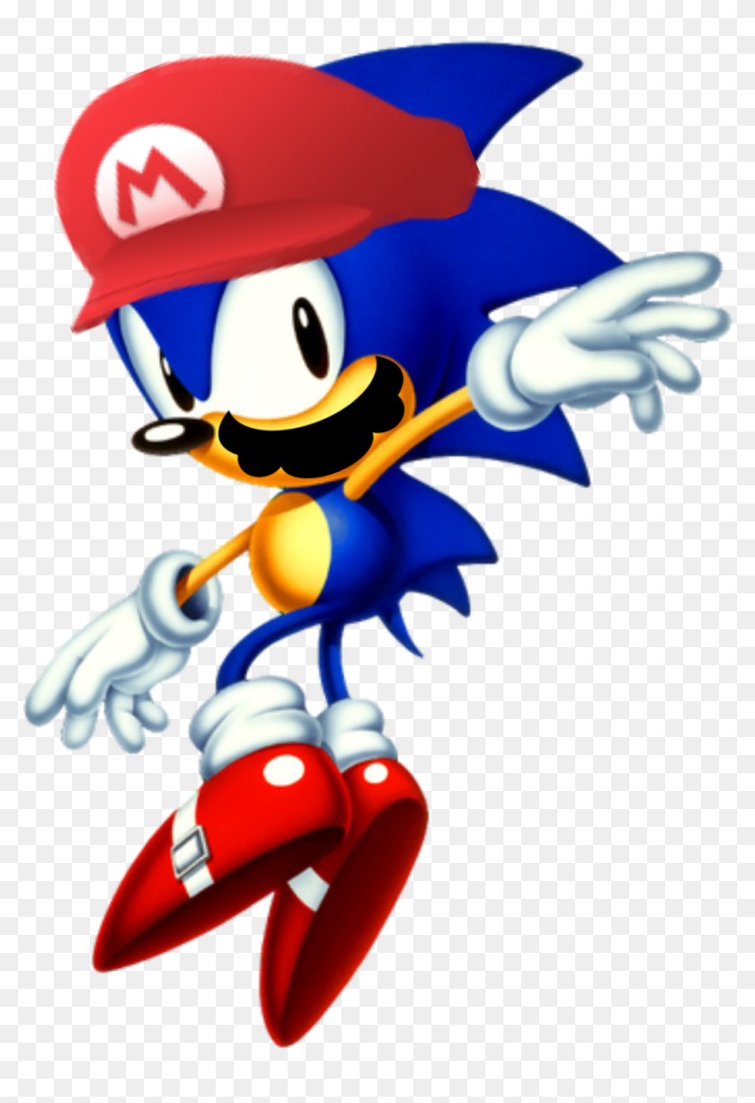 Sonic And Tails Clipart Png Download Sonic The Hedgehog With Waves Transparent Png 1014x1433 6867034 Pngfind