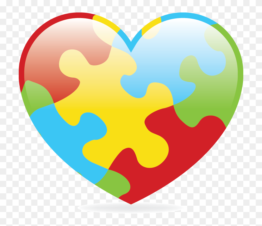 Ten Key Facts About Autism Clipart Autism Heart Hd Png Download 720x645 6898418 Pngfind