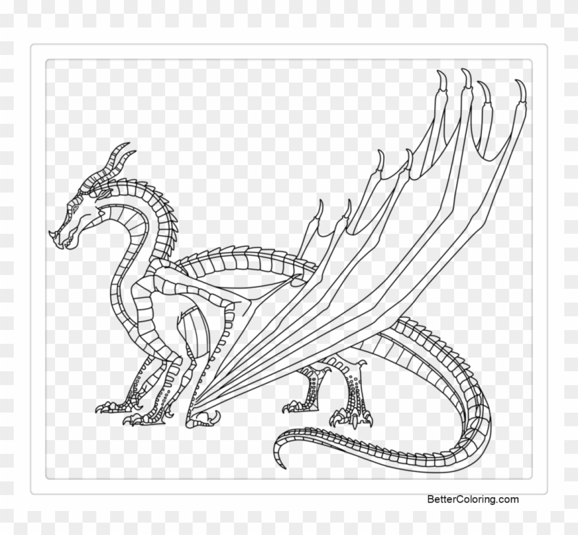 Wings Of Fire Coloring Pages Fan Art