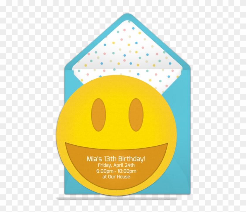 Customizable Free Emoticon Online Invitations Invitation Hd Png