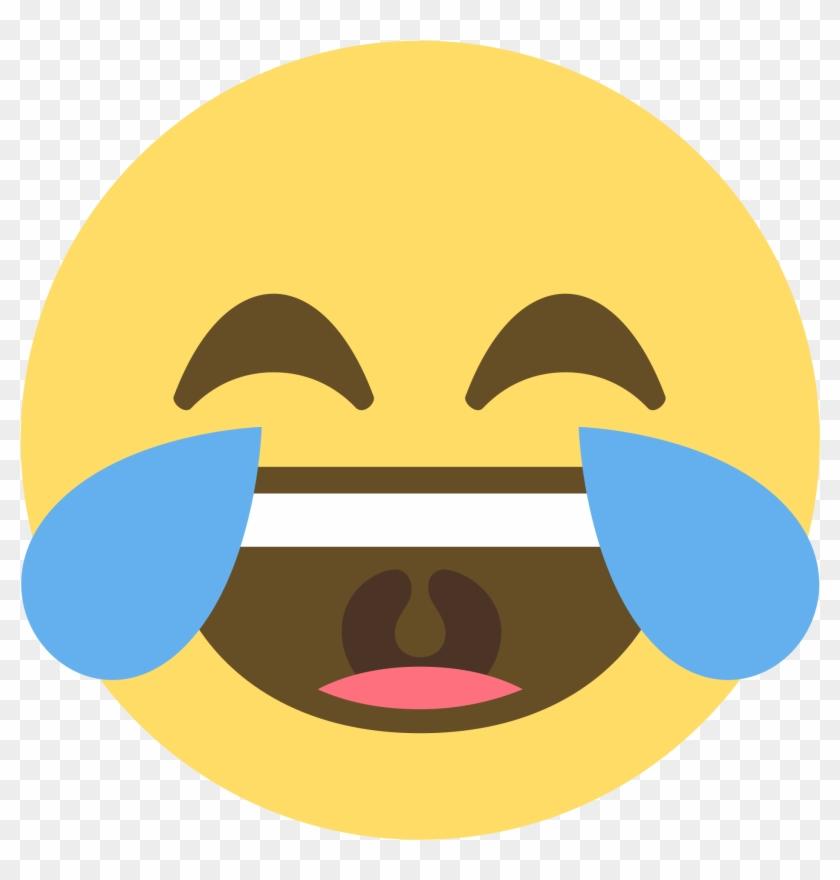 Laughing Crying Emoji Png - Laughing Crying Emoji Discord