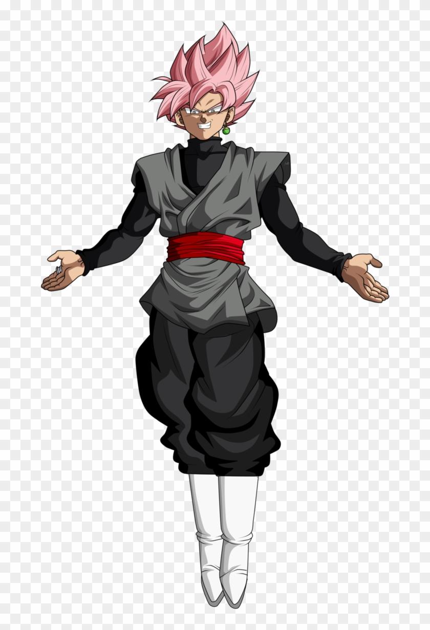 Goku Black Rose Png Goku Black Ssj Rose Png Transparent Png