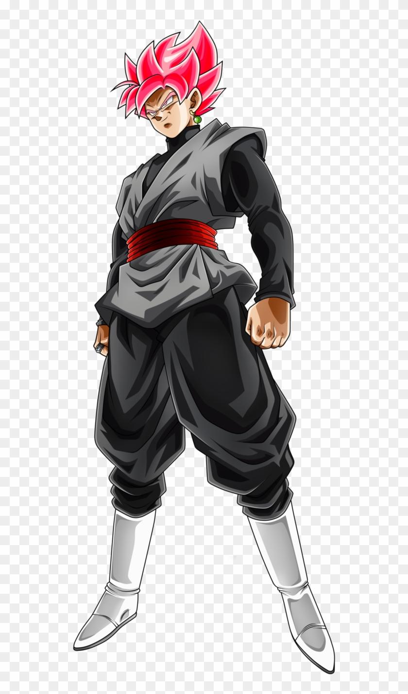 Goku Black Rose Png Black Goku Ssj White Transparent Png