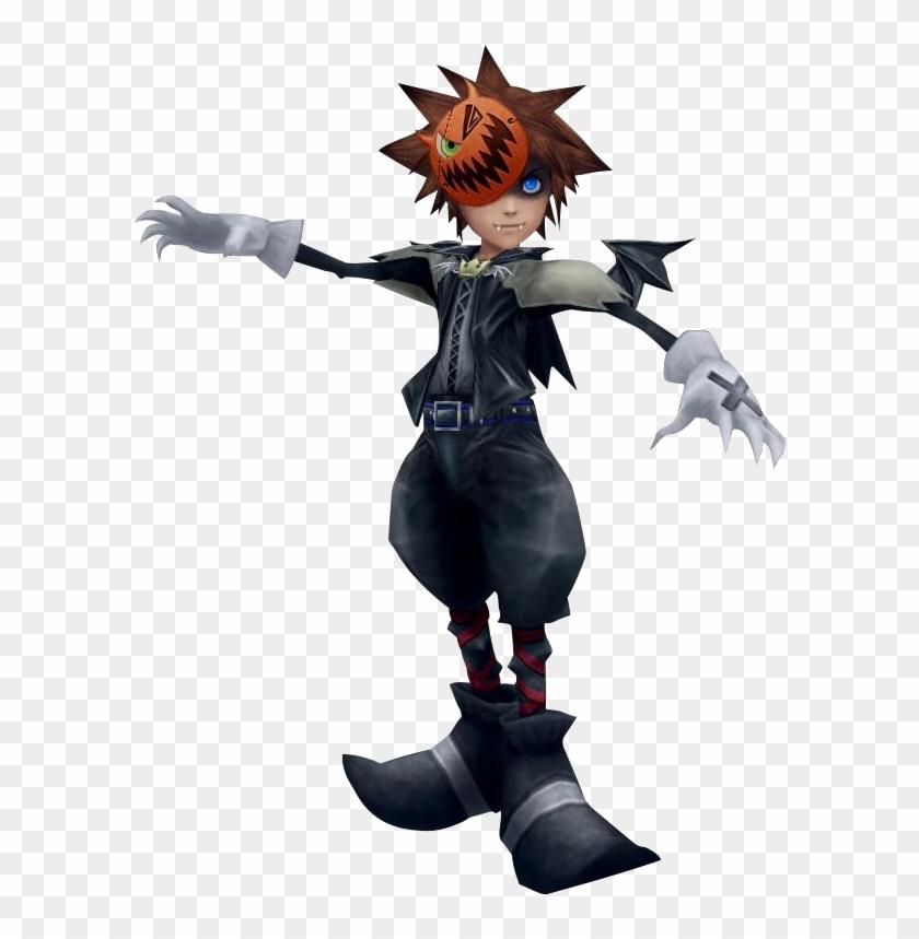 Kingdom Hearts Sora Halloween Town Costume.Sora Halloween Town Vampire Form Kh 1 Png Kingdom Hearts Halloween