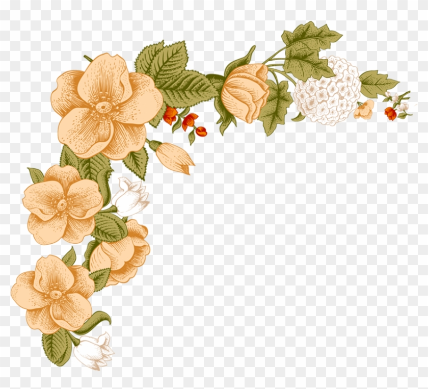 Free Png Download White Flower Frame Png Images Background