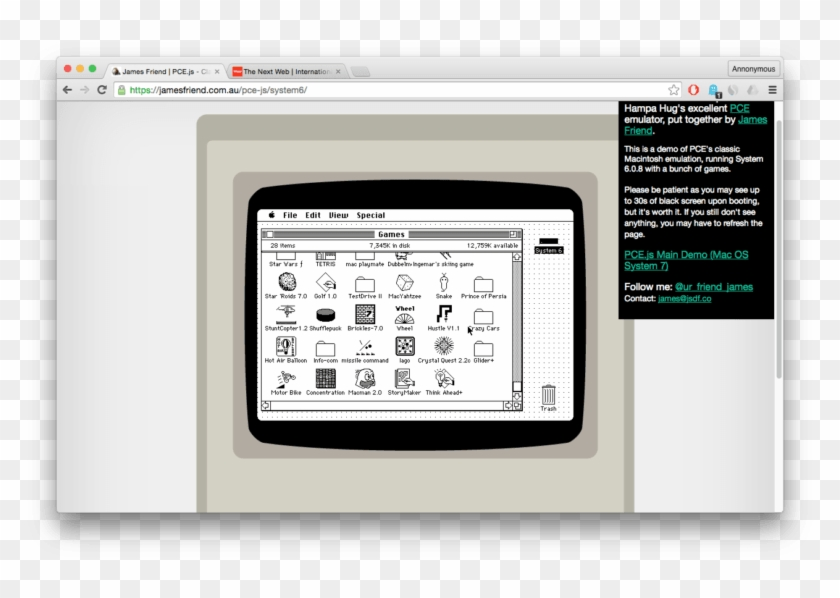 Run Classic Macintosh Os Natively In Your Browser, - Classic